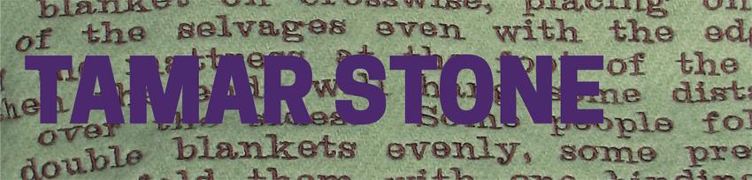 The Storied Stitch: Tamar Stone